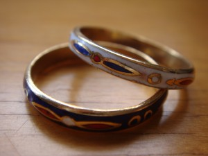 And finally, the rings.