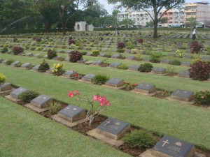 wwii cemetary in thailand for pows