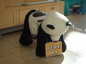Aww, it's like a panda+horse=porse?