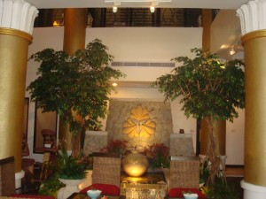 lobby of let's relax spa in phuket thailand
