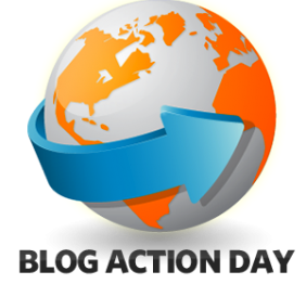 logo for blog action day