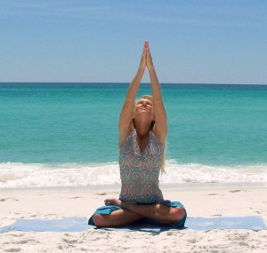 I'd like some tranquility and a sense of accomplishment right about now.  photo credit: healthyoga.com