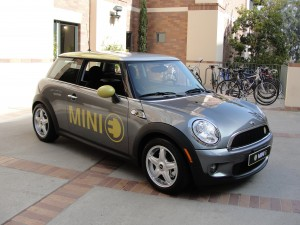 mini e electric vehicle