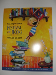 festival of books poster on wall