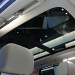dual moonroof in SUV takes up nearly all of roof