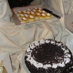 plate of desserts and cake