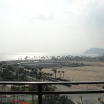view of the ocean from our new place at shenzhou peninsula