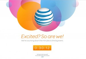 at&t website countdown to iphone 5 pre-order launch