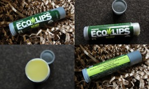 collage of ecolips hemp lip balm vanilla