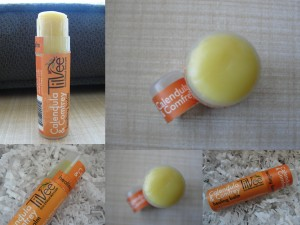 collage of tilvee healing balm included in the august 2012 yuzen box