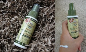 collage of all terrain herbal armor insect repellent
