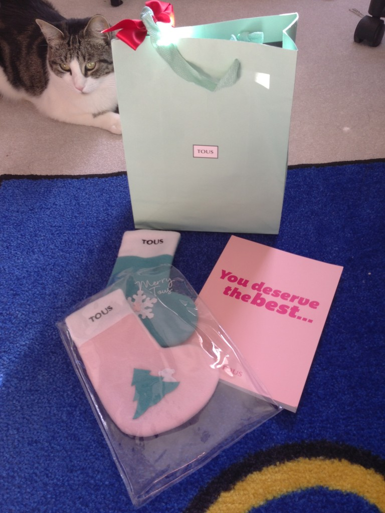 tous holiday stockings and product catalog