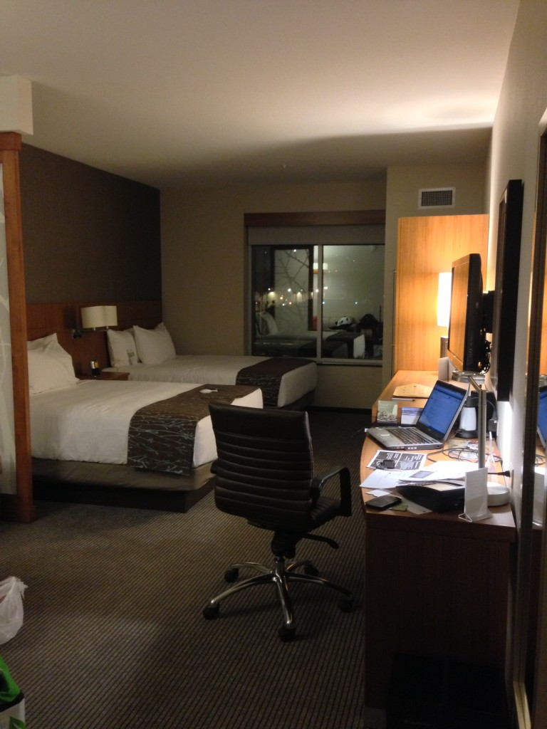 view of room at hyatt place from entrance