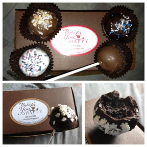 collage of cake pops from bake you happy
