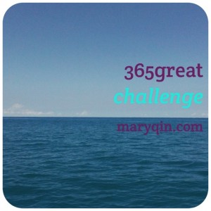 365great challenge at maryqin.com