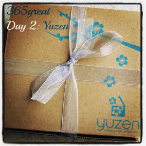 365great challenge day 2: yuzen