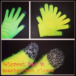365great challenge day 9: touchscreen gloves