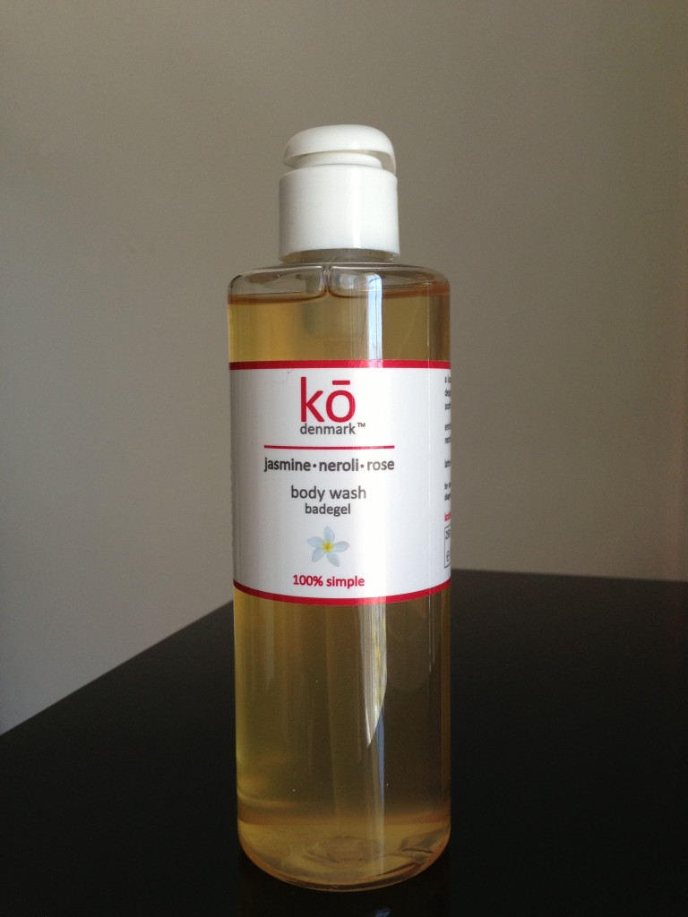 ko denmark jasmine neroli rose body wash
