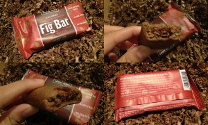 collage of nature's bakery whole wheat raspberry fig bar