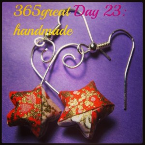 365great challenge day 23: handmade
