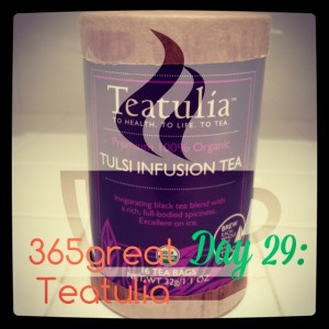 365great challenge day 29: teatulia