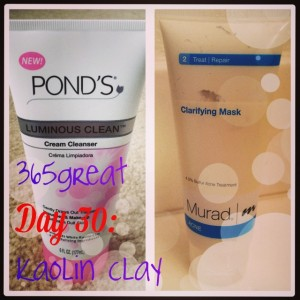 365great challenge day 30: kaolin clay
