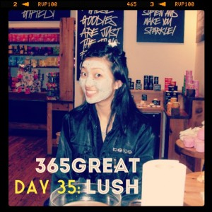 365great challenge day 35: lush