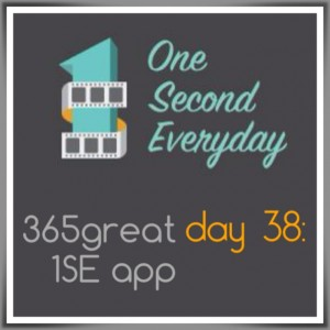 365great challenge day 38: 1 second everyday