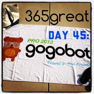 365great challenge day 45: gogobot