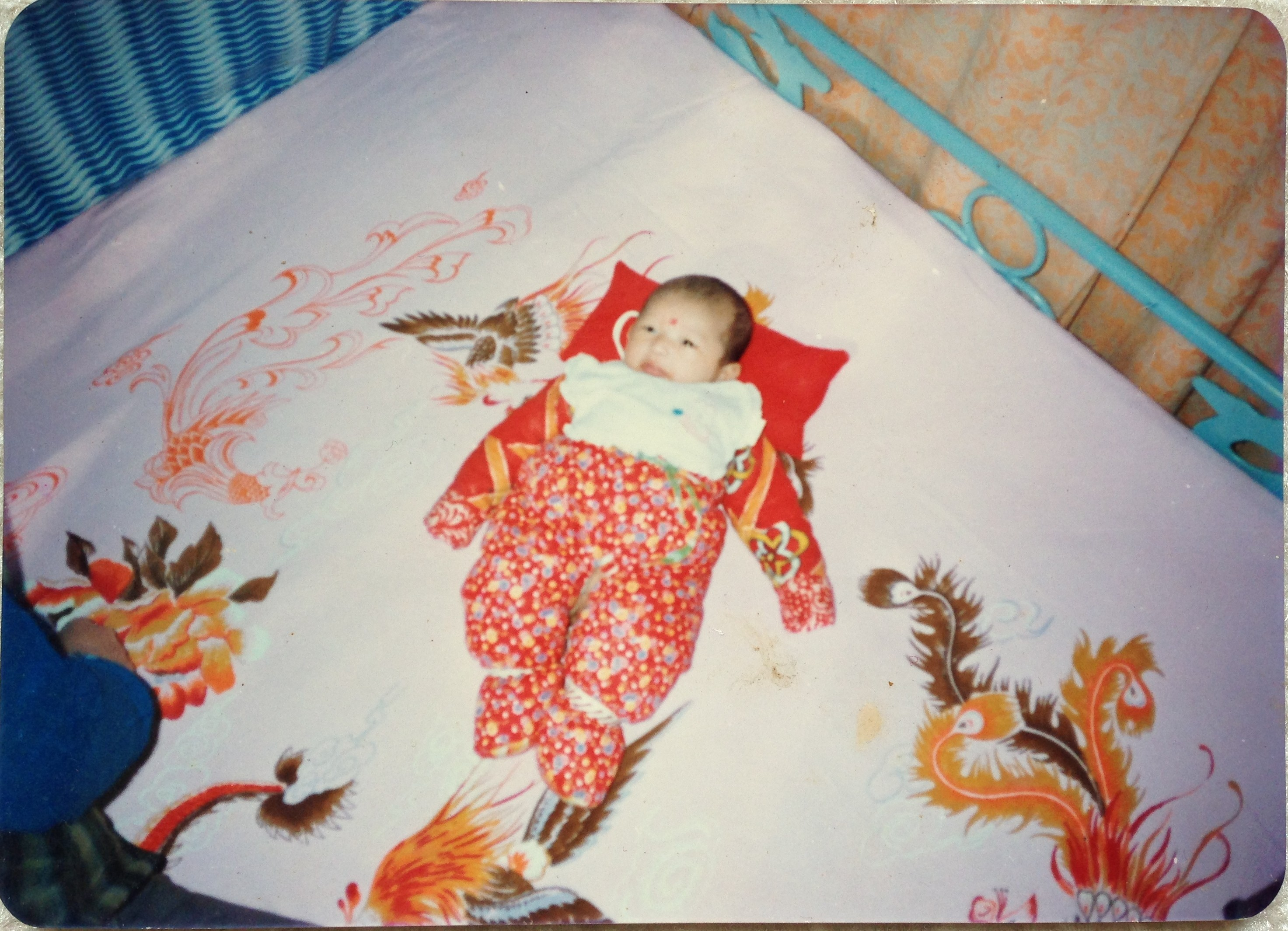 Having a baby boy in China is a BIG deal little fat notebook