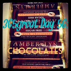 365great challenge day 56: amber lyn chocolates