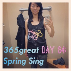 365great challenge day 64: spring sing