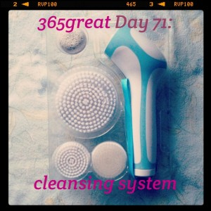 365great challenge day 71: cleansing systems