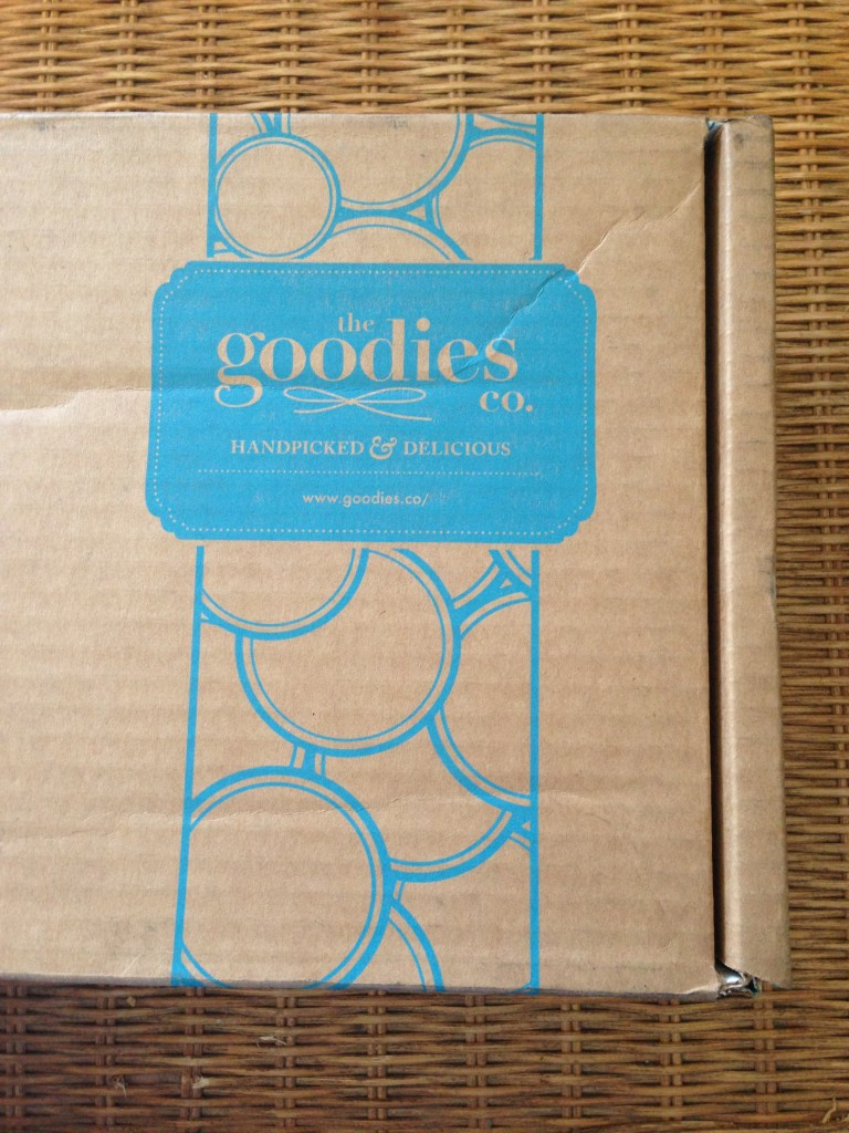 goodies co cardboard shipping box