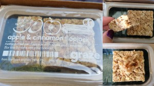 graze apple & cinnamon flapjack