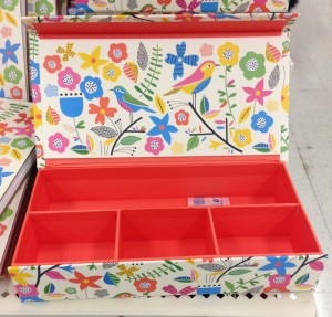 pretty desk organizer for pens and paperclips/push pins at target