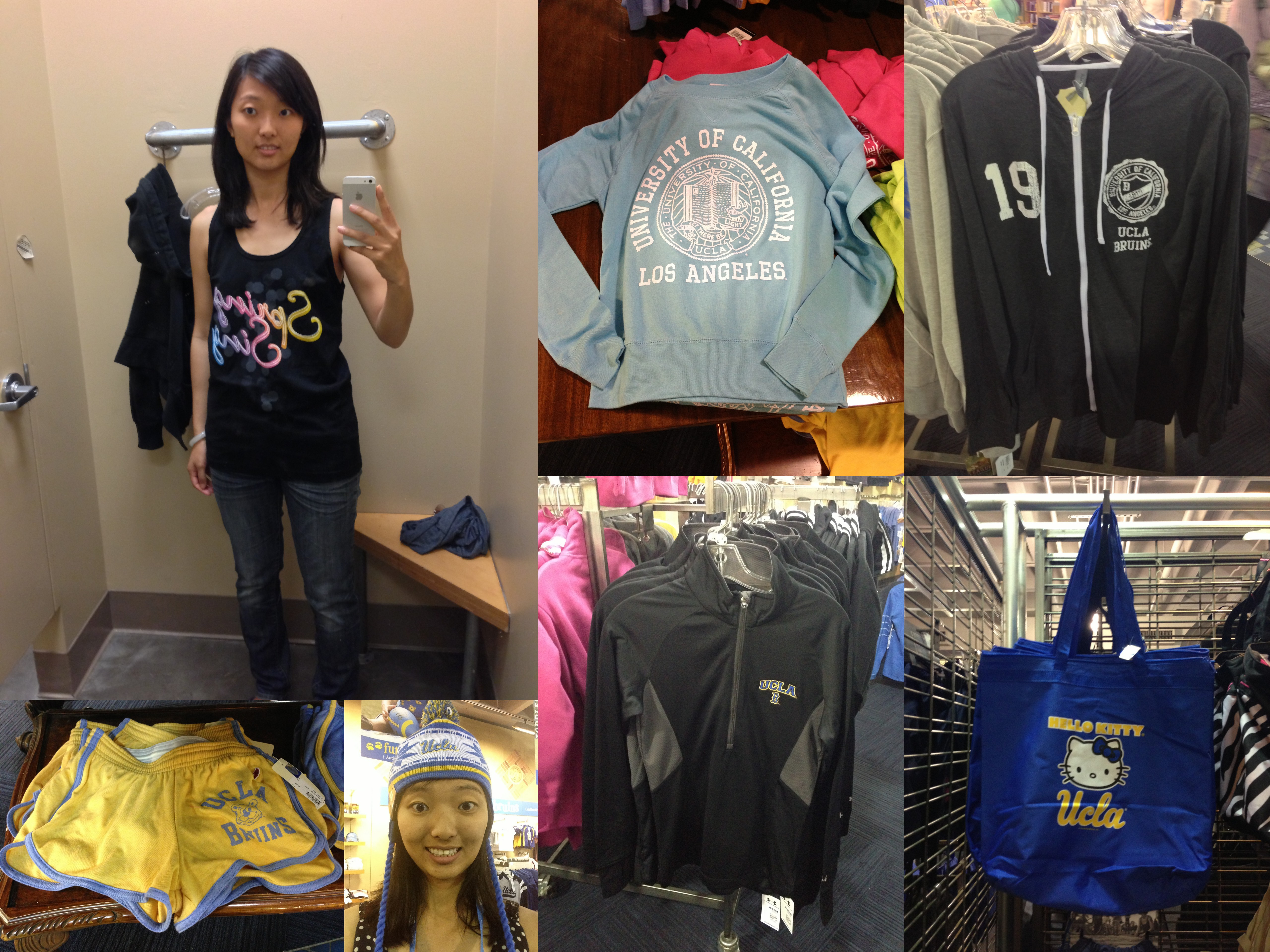 Staffed by friendly and knowledgeable students, browse the UCLA Store's huge inventory of UCLA-themed memorabilia, gifts, and clothing, as well as computer