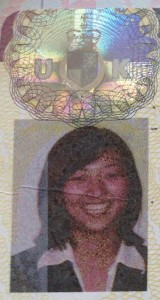 picture and shiny seal of visa to study in uk