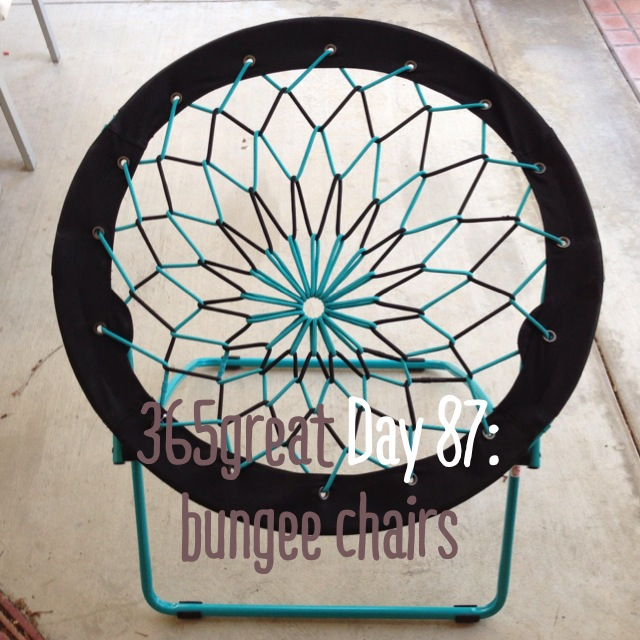 365great Challenge Day 87: Bungee Chairs