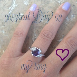365great challenge day 93: engagement ring
