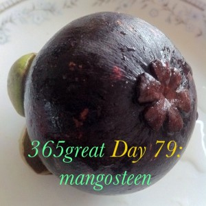 365great challenge day 79: mangosteen