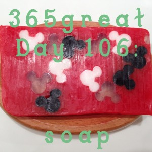 365great challenge day 106: soap