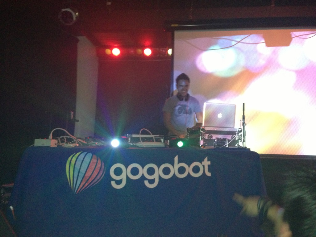 happy gogobot tron party dj