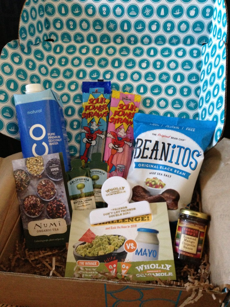 goodies co may taster's box contents