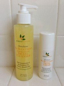 seabuck wonders himalayan sea buckthorn exfoliating facial cleanser and himalayan sea buckthorn facial cream