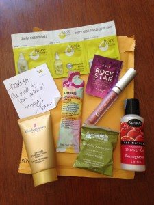 trade with skin, hair, and body products