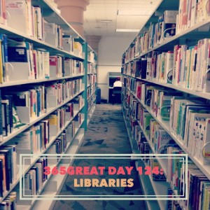 365great challenge day 124: libraries