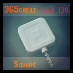 365great challenge day 130: square