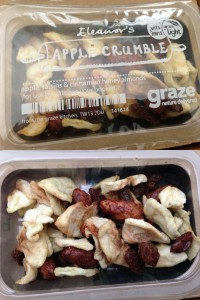 graze eleanor's apple crumble
