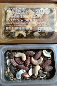 graze hickory smoked nuts & seeds